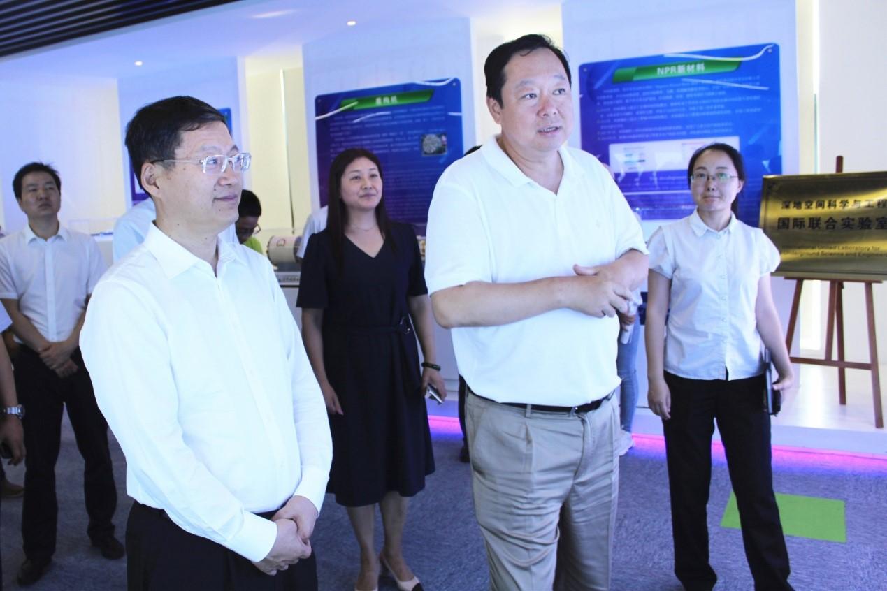 江苏省委常委、组织部长郭文奇调研南京研究院